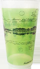 Kokteilitops 400 ml roheline
